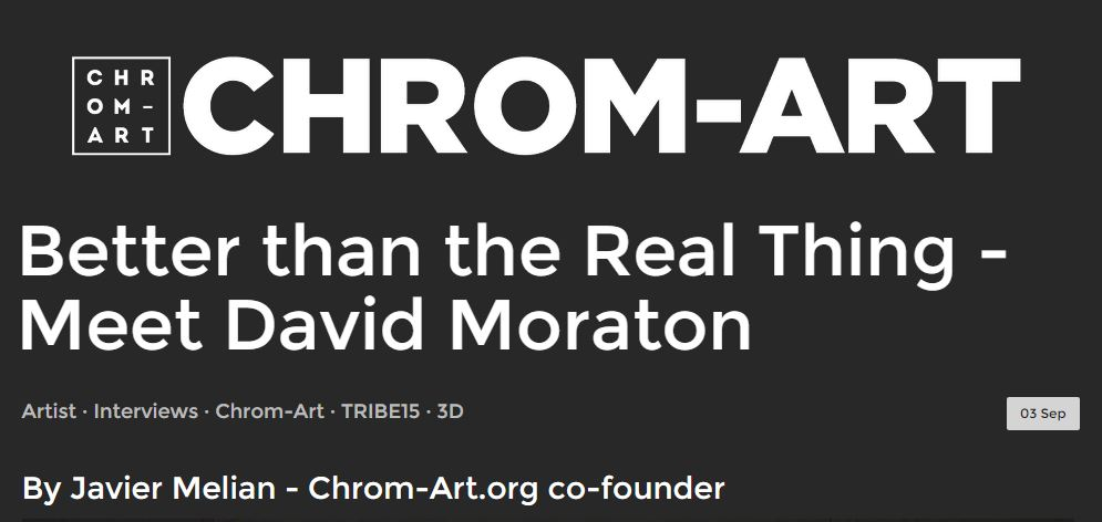 Capture David Moraton Chrom Art